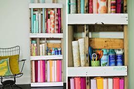 creative simple diy wall craft paper pallet storage using