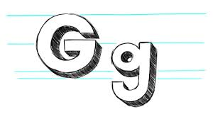 letter g coloring pages all coloring pages