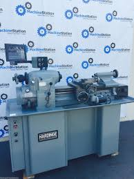 used hardinge super precision toolroom lathe model hlv h
