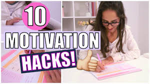 10 life hacks for getting motivated youtube