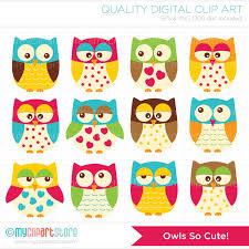 owl vector clipart 41