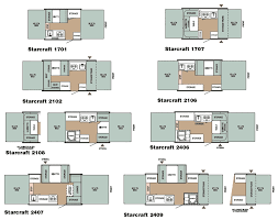 house plan starcraft folding camping trailer floorplans large