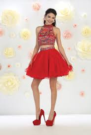 short homecoming two piece dresses formal cocktail the dress outlet