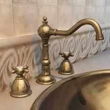 Antique Brass Bathroom Fixtures by Old Brass Faucet For Classy And Antique Bathroom Idea