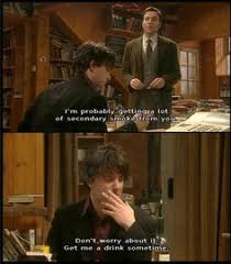 Black Books Meme - black books makes me want to open a little book store and drink wine