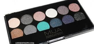 Makeup Mua mua makeup academy 12 shade dusk til palette review swatches