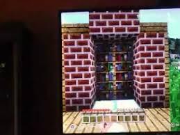 Minecraft Secret Bookshelf Door Minecraft How To Build Secret Bookshelf Door Youtube