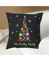 amazing deal on personalized robin zingone tree pillow