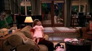 two and a half men charlie throws diaper off the deck hd youtube