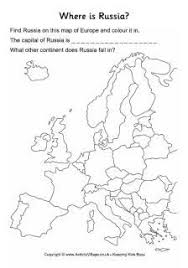 russia activities and printables for kids