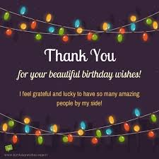 birthday thank you sentiments amazing birthdays and