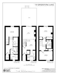 Semi Detached Floor Plans by 19 Sandstone Lane