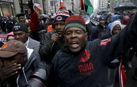black friday shootings protest over chicago teen u0027s shooting ties up retail district the