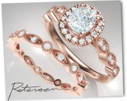 Vintage Wedding Ring Sets by Wedding Ring Set Etsy