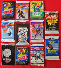 clearance sale hockey cards unopened packs rookies bowman