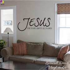 popular bible characters buy cheap bible characters lots from jesus name above all names saying wall sticker living room bedroom bible verse quote wall decal
