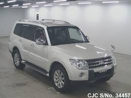 white mitsubishi sports car 2009 mitsubishi pajero white for sale stock no 34457 japanese