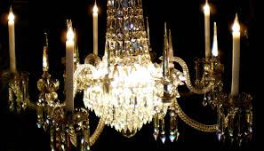 Lead Crystal Chandelier Sold Spectacular Victorian Lead Crystal