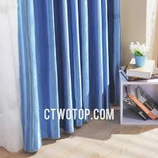Silk Draperies Ready Made Blue And Dark Blue Faux Silk Cheap And Ready Made Blackout Curtains
