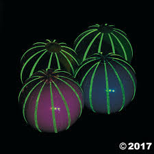 glow balls glow in the large striped balls
