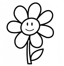 simple drawing of flowers simple flower drawing how to draw flower