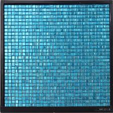 Light Blue Kitchen Backsplash by Gm12 10 Waterproof Light Blue Decorative Glass Mosaic Kitchen