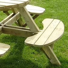 how to build round wood picnic table u2014 desjar interior