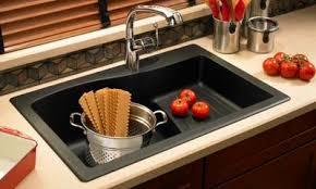 Kitchen Sink Deep by Swanstone Quartz Sinks