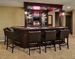 Basement Bar Design Ideas Pictures Of Home Bars In The Basement Basement Traditional Home