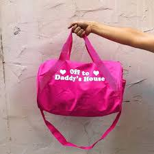 accessory house off to daddy s house duffel bag preorder alien outfitters