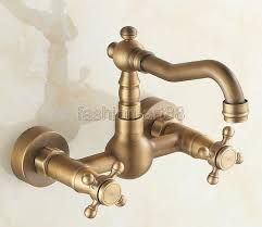Bridge Faucet Bathroom by Vintage Bathroom Sink Faucets White And Gold Bathroom Features A