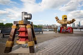 clash of clans the builder has been busy in london clash of clans