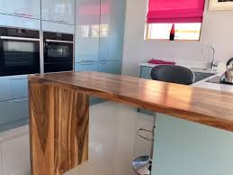 walnut breakfast bar table a beautiful english walnut waterfall edge breakfast bar we crafted