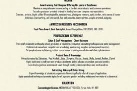 Hairdresser Resume Examples by Beginning Resume Samples Reentrycorps