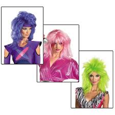 Jem Halloween Costume Pink Wig Jem Discount Wig Supply