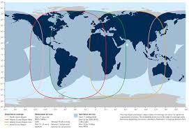 Internet Coverage Map Satellite Coverage Our Satellites Inmarsat