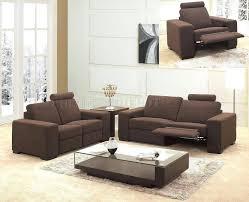 sofa luxury modern reclining loveseat design ideas home