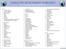 character profile worksheet free worksheets library download and