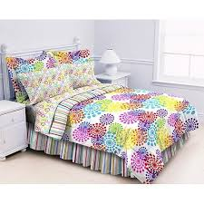 Girls Bed In A Bag by 3 Buy Twin Polka Dots And Stripes Multi Prism Comforter Sheet Bed