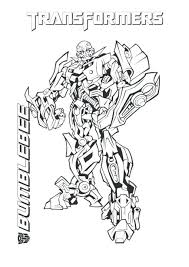 Transformers Coloring Pages Transformers Coloring Pages Bumblebee Transformer Color Page