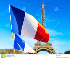 France Flag Images French Flag Waving In Paris France Stock Photo Image 50251726