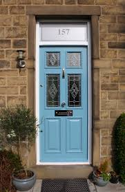 made good new hard wood front door victorian style