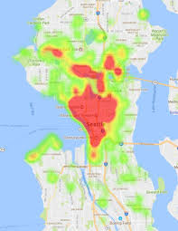 Seattle Bike Map There Are Now 1 000 Bike Share Bicycles In Seattle Seattlepi Com