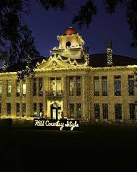 johnson city texas christmas lights lights spectacular at the blanco county courthouse in johnson city