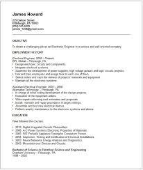 camera test engineer sample resume 19 electronic 21 unit clerk