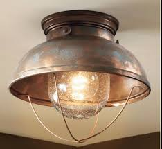 Copper Kitchen Decor by Rustic Light Fixtures Ceiling Cabin Fishing Lodge Decor Copper