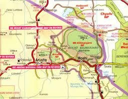 Tanzania Map Tanzania Map Of Kilimanjaro Region Images