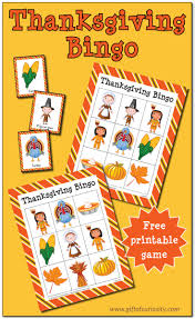 thanksgiving bingo free printable gift of curiosity