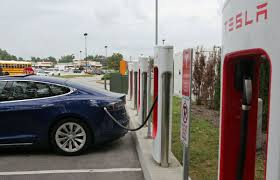 Tesla Charging Station Map More Electric Cars Could Spark Need For More Charging Stations