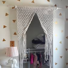 Macrame Home Decor by Excellent Sliding Door Curtain With Window Treatments For Excerpt